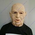 2013 venda quente realistas de cabeça cheia de máscara de carnaval festa comemorações boné adulto velho máscara