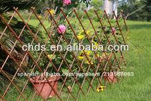 sauce valla del jardín para la decoración