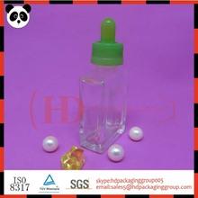 2014 nuevo diseño de botella de vidrio vacías e líquido botella de vidrio ejuice líquido sabor a la venta