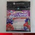sac de bonbons / plastique pour fruits avec ziplock