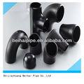 Astm b16.9 de acero al carbono galvanizado de instalación de tuberías