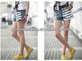 2013 dama de la moda corto dril de algodón pantalones vaqueros/pantalones( gd- 201)