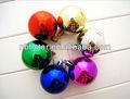 Moda decorativa de plástico bola de navidad( hsd- c- 001)
