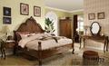 venta caliente juego de dormitorio de madera clásica