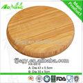 durable des planches à découper en bambou rond