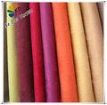 Plain tecido de camurça impermeável com t/c backing/tela do sofá