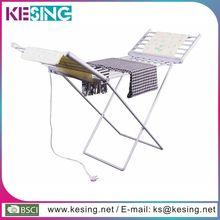plegable ala forma eléctrica de tubo de aluminio plegable de tela de secado bastidores soporte