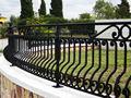 Vallas de hierro para los hogares/fotos cercas para las casas/baratos de hierro forjado fencen para la casa