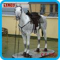 thème des animaux modèle de simulation de mannequin cheval grandeur nature