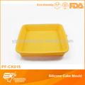 grande de pastel de silicona del molde