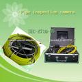 Cabezal de la cámara sistema de cámaras de inspección de tuberías de drenaje de 6 mm de alta calidad para la venta tec-z710d5