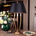la lámpara de bronce del hotel lámparas de mesa de noruega de café de moda tienda de luz del escritorio