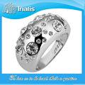 2013 nuevo anillo de circón de platino de la moda LKN18KRGPR088