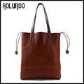famoso diseño de italia de cuero de ocio bolsa bolsa de compras