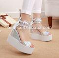 zapatos de plataforma de venta al por mayor dama sandalias 2014 py2926