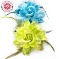 hecho a mano de la moda 14cm broches de flores artificiales broche baratos