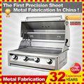 kindle 2014 profissional personalizado ferro fundido churrasqueira para venda