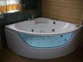2013 europeo y americano popular de masaje bañera de acero