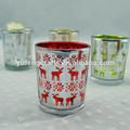 plata crujido de vidrio titulares de vela de la boda decoración de la mesa para el hogar decoración accesorios vintage