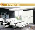 Blanco camademadera/cama de madera blanco