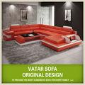 Muebles para el hogar!Sofá de cuero moderno,Vatar sofá cama