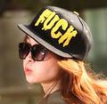 Gorra de béisbol del hip-hop carta FUCK