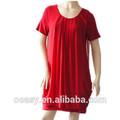 2014 damas de la moda las mujeres baratos rojo vestido de verano