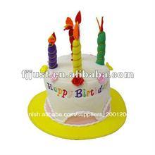 led de la espuma de cumpleaños de sombreros de fiesta