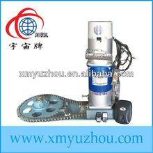 motor eléctrico para el balanceo de las puertas del obturador