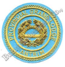regalia masónico bordado de insignias