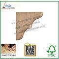 China qualificada simples suporte de madeira, madeira maciça suporte de decoração, wall prateleira de suporte