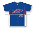 Camiseta de béisbol sublimación encargo al por mayor, el 100% de poliéster de béisbol / softball jersey / diseño libre con su pr