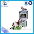 2014 venta caliente arcade electrónico caballo los juegos de carreras, simulador de equitación