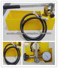 De accionamiento manual de prueba hidráulica bombas/0-50bar/12l tanque de agua( ep- 50)