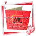 tarjetas de papel hecho a mano/tarjeta de la invitación hecha a mano