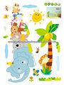 etiqueta adhesiva de dibujos animados