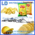 Equipo de producción de patatas fritas