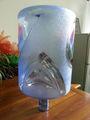 Botellas de agua de plástico de 5 galones