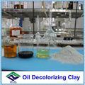 Aceite de arcilla decolorante para el aceite de coco
