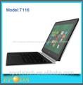 mejor y más barato de doble núcleo 8 windows tablet pc de 11 pulgadas mid con bluetooth dual hdmi de la cámara