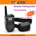 Collar del entrenamiento del perro TZ-PET998D con 300 metros collares de adiestramiento gama para perros
