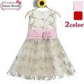 festa indiana ouro bordar vestidos para crianças roupas branco bordado do vestido de casamento