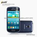 Fábrica profesional de producir teléfono móvil protector de pantalla transparente para Samsung galaxy s3mini