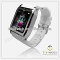 caliente de la venta del fabricante de china baratos reloj inteligente del teléfono A mano reloj del teléfono móvil