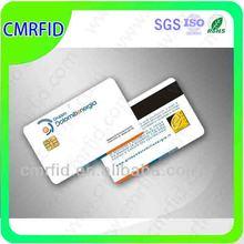 la norma iso pvc chip rfid tarjetas de contacto