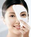 colágeno máscara facial