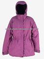 2013 chaqueta de moda para mujer, chaqueta de esquí de los nombres de marca de la mujer