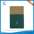 A6 Top Bound Notebook PVC dermatoglifos Spiral