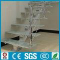 cristal del metal de interior escalera