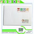 impresión de sobres de cartón blanco